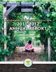 Download our 2012 Annual Report as a PDF - National Gardening ...