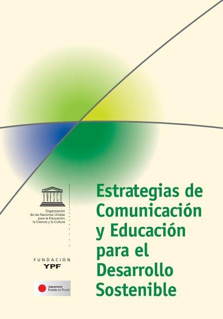 Estrategias de Comunicación y Educación para el Desarrollo Sostenible