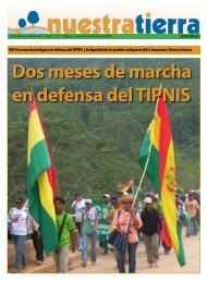 Dos meses de marcha en defensa del TIPNIS