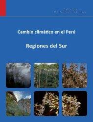 Cambio climático en el Perú. Regiones del sur - CDAM - Ministerio ...
