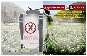 Plaguicidas de Clase en BOLIVIA - Cebem