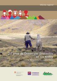 20 años de desarrollo sostenible en los Andes - Cebem