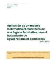 Aplicación de un modelo matemático al monitoreo de una ... - Cebem