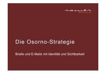 Die Osorno-Strategie