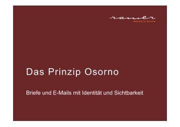 Das Prinzip Osorno