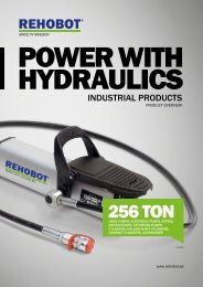 ABOUT REHOBOT HYDRAULICS