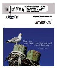 September 2011 - St. Peter Evangelical Lutheran church