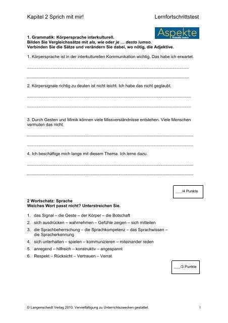 aspekte neu b2 lösungen lehrbuch