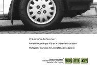 AVB Verkehrs-Rechtsschutz - Versicherungen