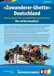 »Zuwanderer-Ghetto« Deutschland