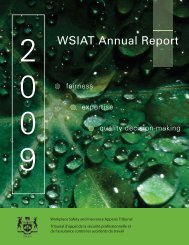 Annual Report 2009 - wsiat