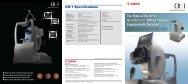 CR-1 Mark II retinal camera brochure (PDF, 2MB) - Canon
