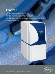 La gamme de chaudières EcoStar - MHG Heiztechnik