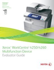 Expectation Setting Document V2 5 Xerox WorkCentre 7525/7530/7535