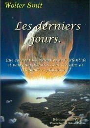 Les derniers jours. - Éditions Jean Voltaire
