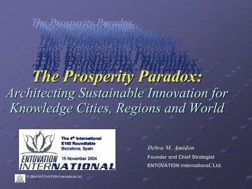 The Prosperity Paradox - Entovation International