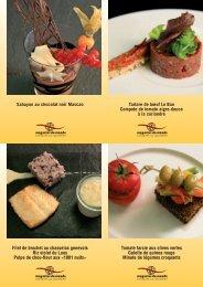 Recettes Restaurant Vieux-Bois - Magasin du monde