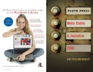 Media Studies Catalogue - Pluto Press