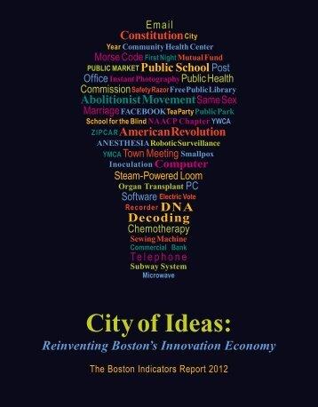 City of Ideas: Reinventing Boston's Innovation Economy - WBUR
