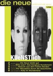 Das Aargauer Kuratorium! - Neue Kantonsschule Aarau