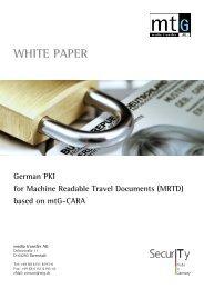 WHITE PAPER German PKI for Machine ... - media transfer AG