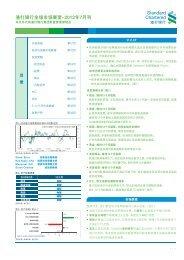 渣 打 银 行 全 球 市 场 展 望 -2012 年 7 月 刊