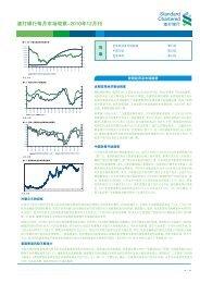 渣 打 银 行 每 月 市 场 观 察 -2010 年 12 月 刊