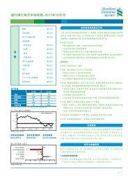 渣 打 银 行 每 月 市 场 观 察 -2011 年 12 月 刊