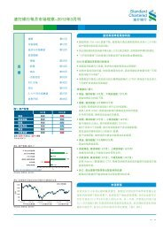 渣 打 银 行 每 月 市 场 观 察 -2012 年 3 月 刊
