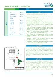 渣 打 银 行 每 月 市 场 观 察 -2011 年 4 月 -5 月 刊