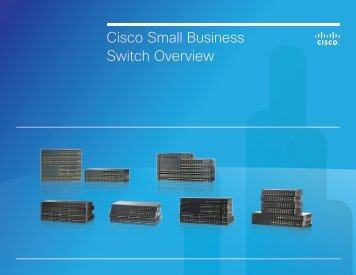 Cisco Small Business Switch Overview
