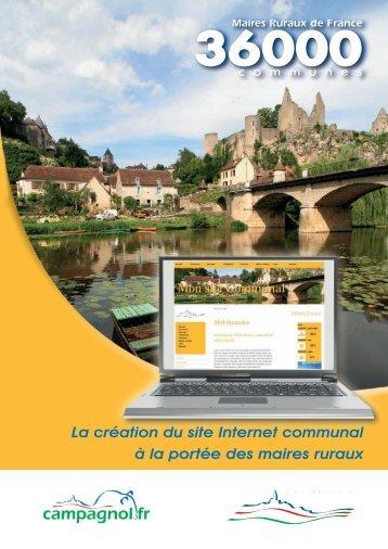La création du site Internet communal à la portée des maires ruraux