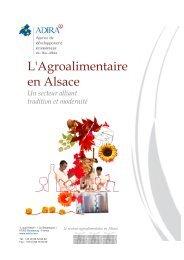 L'Agroalimentaire en Alsace