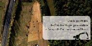 le Guide pratique de l'archéologie préventive à l'usage de l ... - Adira