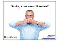 Marche des Senior - NovoViva.fr - Adira