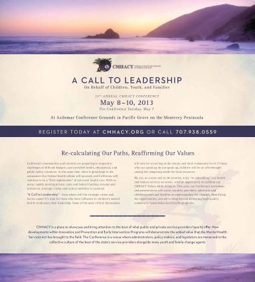 A Call to Leadership