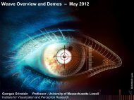 Weave Overview and Demos – May 2012