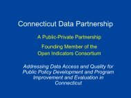 Connecticut Data Partnership