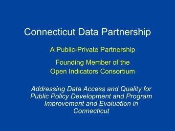 Connecticut Data Partnership