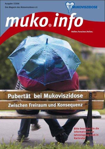 Pubertät bei Mukoviszidose - Mukoviszidose e.V.