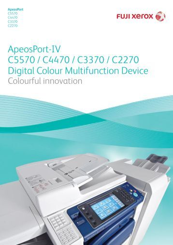 Fuji Xerox Docucentre iv C3370 Driver Installation Manual
