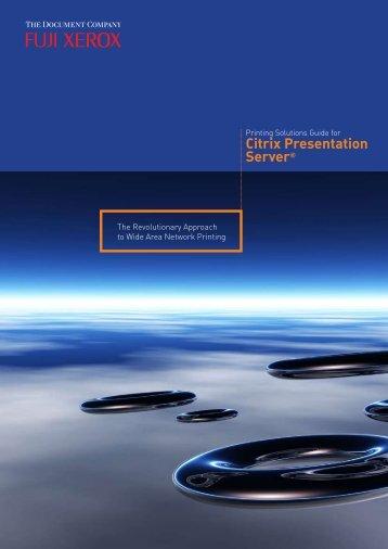 Citrix Presentation Server
