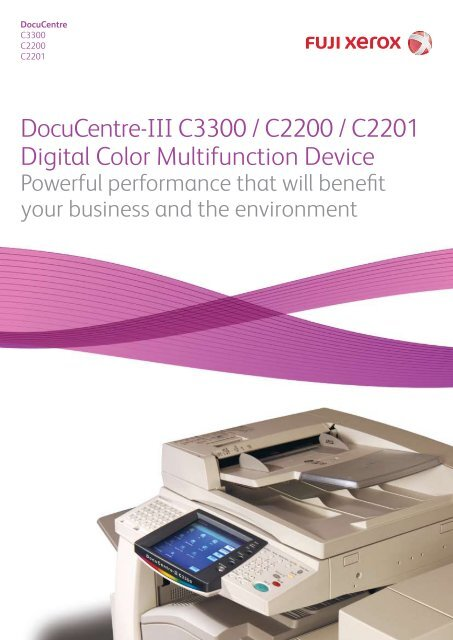 DOCUCENTRE-III C3300 DRIVERS FOR PC