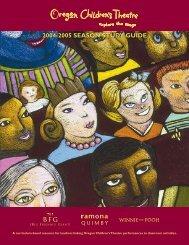 2004-2005 SEASON STUDY GUIDE