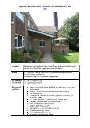 Lyn Royd - Kirklees Neighbourhood Housing