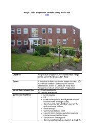 Kings Court - Kirklees Neighbourhood Housing