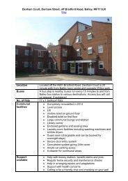 Denham Court - Kirklees Neighbourhood Housing