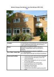 Belmont Grange - Kirklees Neighbourhood Housing