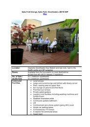 Sykes Fold Grange - Kirklees Neighbourhood Housing