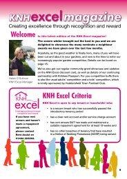 KNH Excel Magazine May 2010 - Kirklees Neighbourhood Housing